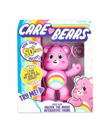 NEW 2020 Care Bears Pink Cheer Bear Interactive 5'' Figure comes with coin! - $14.84