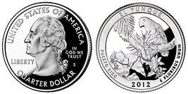 2012 S El Yunque Statehood Silver Proof Quarter PF1 - $17.99
