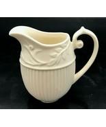 "Twos Company Milk Creamer White Pottery 4""  - $14.99"