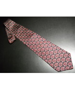 Ralph Marlin Neck Tie Texas A&M University Logo Repeat 2003 Red On Black... - $12.99