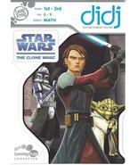 LeapFrog-Didj-game-Star-Wars-The-Clone-Wars-Math BNIB - $6.92