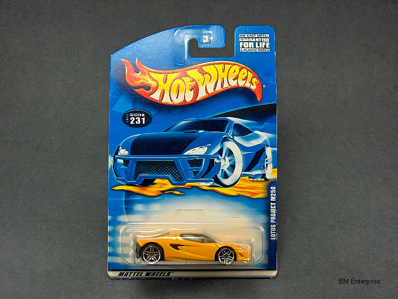 Hot Wheels Lotus Project M250 #2001-231 #2