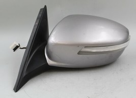 09 10 11 12 13 14 Hyundai Genesis Left Silver Driver Side Power Door Mirror Oem - $128.69