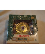 Christmas Tree Topper ~ Lighted ~ Original Box ~ Fra - $7.00