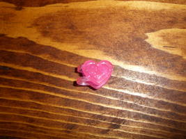My Little Pony G2 accessory pink heart hair clip - $5.00