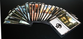 Magic The Gathering MTG Complete Set 20x Basic Lands Khans of Tarkir - $5.95