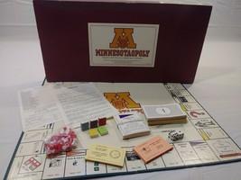 Vintage Minnesota University Monopoly Minnesotaopoly Game 1st Edition Complete - $18.00
