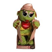 Vintage Gemmy Flirty Flasher Dancing & Singing Girl Frog Its Raining Men... - $29.69