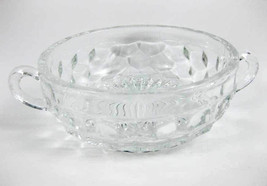 "Vintage Fostoria American Clear Double Handled Bowl 5-1/2"" - $19.00"