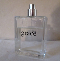 Vintage Philosophy INNER GRACE EDP 4 oz  Pre Coty, Disc, Used ~75% Full image 2