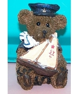 Bear  With Sailboat Collectable - $10.00