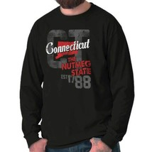 Vintage Connecticut The Nutmeg State New England Souvenir Long Sleeve Tee - $9.99+