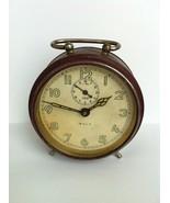 Vintage Rare HALLER GALA Big Alarm Clock Germany Vintage 50's - $60.43