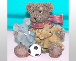 Bear With Elephant And Ball Collectable