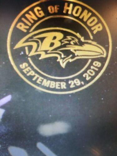 Brian Billick Ring of Honor Induction Poster Baltimore Ravens September 29, 2019 image 3