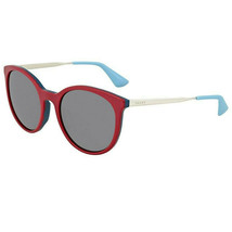 Prada Sunglases PR17SSF VH43C2 55 Bordeaux Blue Sunglasses - $168.29