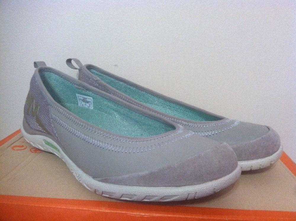 Merrell Enlighten Vex Aluminium Gray Women's Slip On Comfort Flats Oxfords 6 M