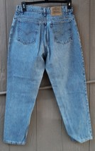 Vintage Levi's 951 Relaxed Fit Tapered Leg Mom Jeans Size 14 SHort - W32... - $29.99