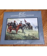 2001 Mort Kunstler Legends in Gray Jackson and Lee Civil War Wall Calendar - $42.49
