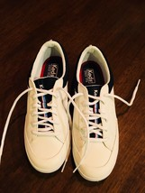 KEDS Spirit Women's All White Leather  Sneakers 9 146 - $16.31