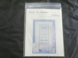 Victoria Sampler FRESH AIR SAMPLER PATTERN 1 w/Accessory Pack - Thea Dueck  - $24.75