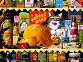 Buffalo Games - The Cats of Charles Wyoscki - Ethel The Gourmet - 750 Pi... - $59.99