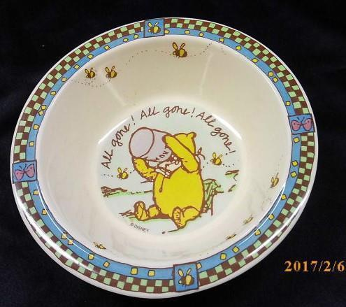 Selandia Winnie the Pooh \u0027All Gone\u0027 Cereal Bowl & Selandia Winnie the Pooh \u0027All Gone\u0027 Cereal and similar items