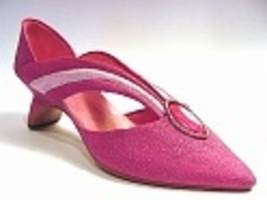 Grand Marquise Streamlined Sleek Pretty in Pink Pump Jewel Just the Righ... - $24.99