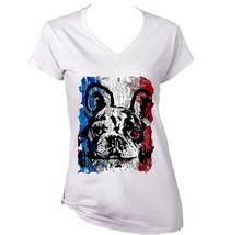 French Bulldog French Flag 19 - Cotton TSHIRT- S-M-L-XL-XXL - $24.80