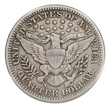 1914-S 25C Barber Quarter Fine+ Condition, All Natural Color, Full Bold Liberty image 4