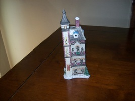 Christmas village old time hotel - $5.99