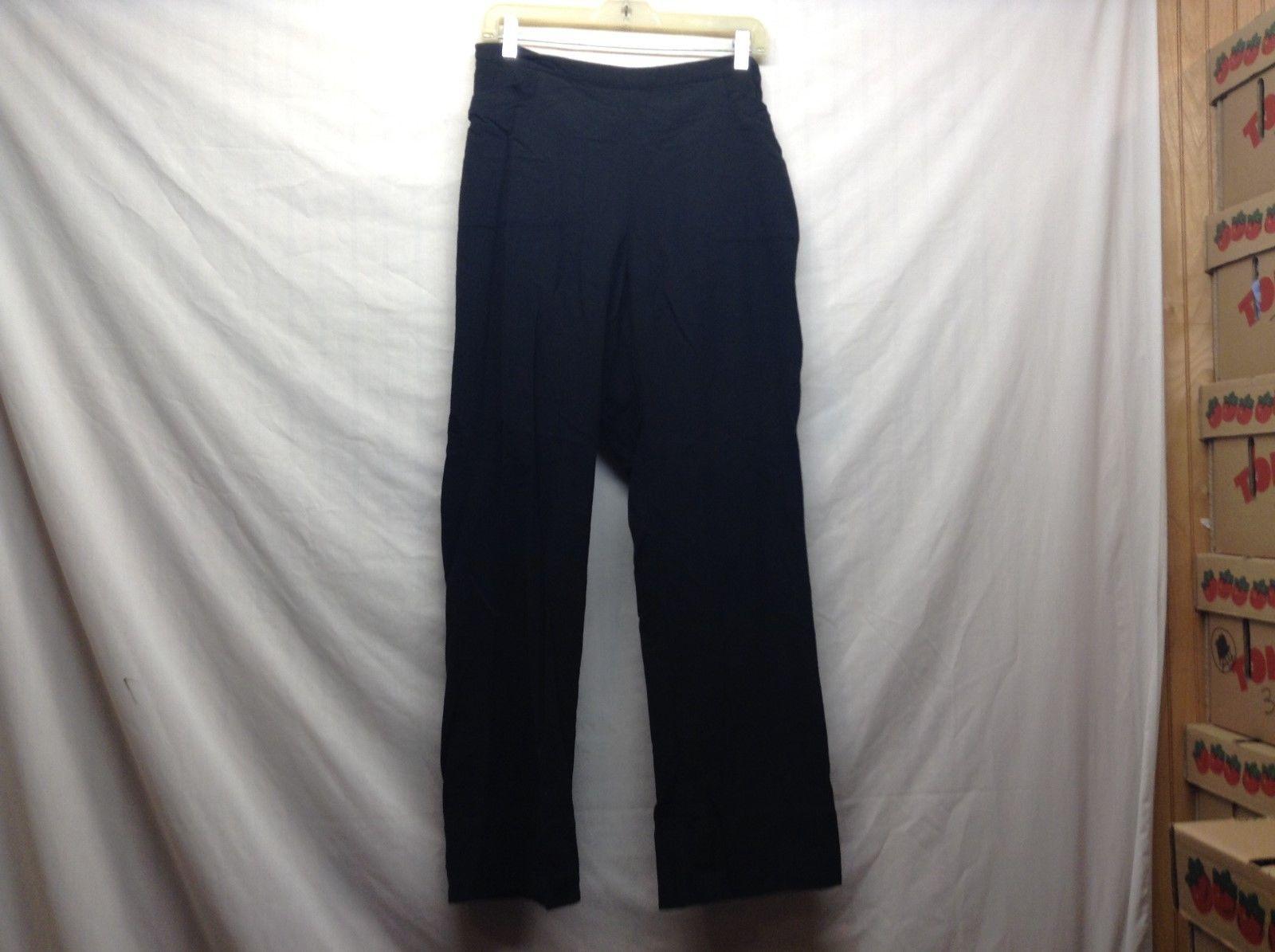 Soft Surroundings Ladies Black Stretchy Pants Size Medium