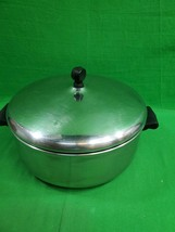 Farberware Stainless Steel Dutch Oven ~ Aluminum Clad ~ Lidded ~ USA - $17.72