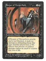 Magic the Gathering MTG Keeper of Tresserhorn Card NM Alliances 1996 - $5.95