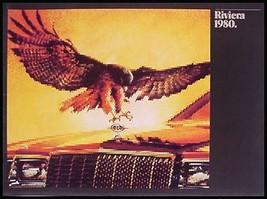 1980 Buick Riviera Deluxe Brochure, MINT - $7.75