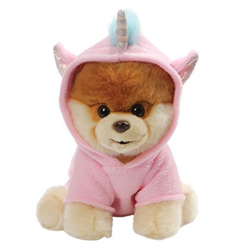 GUND Worlds Cutest Dog Boo Unicorn Outfit Stuffed Animal Plush, 9