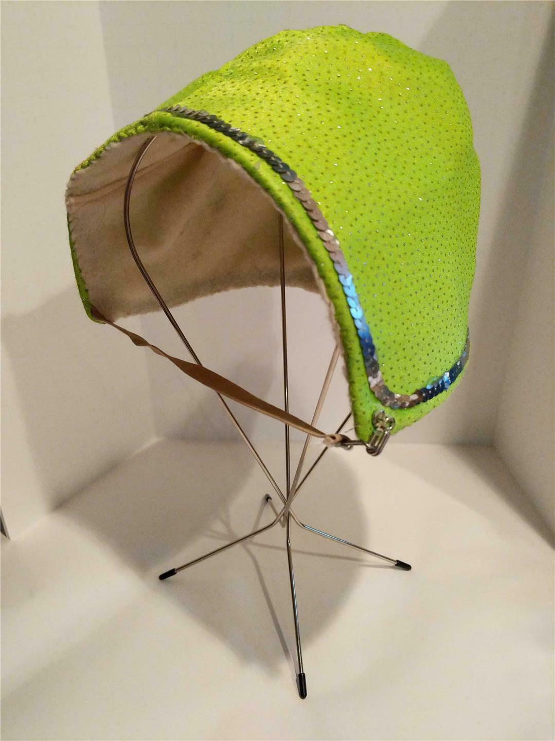 Primary image for Circus Performance Bartok Hat Lime Green Sparkles Royal Hanneford Circus Sarasot