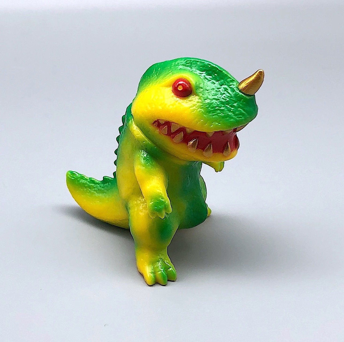 Max Toy Mini Yellow-Green Dino Saikobi