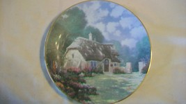 Stonegate Cottage Collectors Plate by Thomas Kinkade Garden Cottages of ... - $33.41