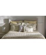 Yves Delorme Vegetal Honey Queen Duvet 100% Cotton Sateen Damask Jacquar... - $256.00