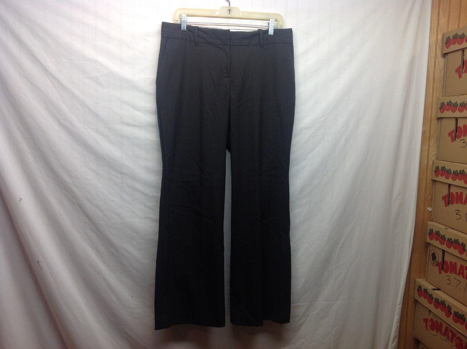 Ann Taylor LOFT Petites Business Style Julie Brown Dress Pants Sz 10P