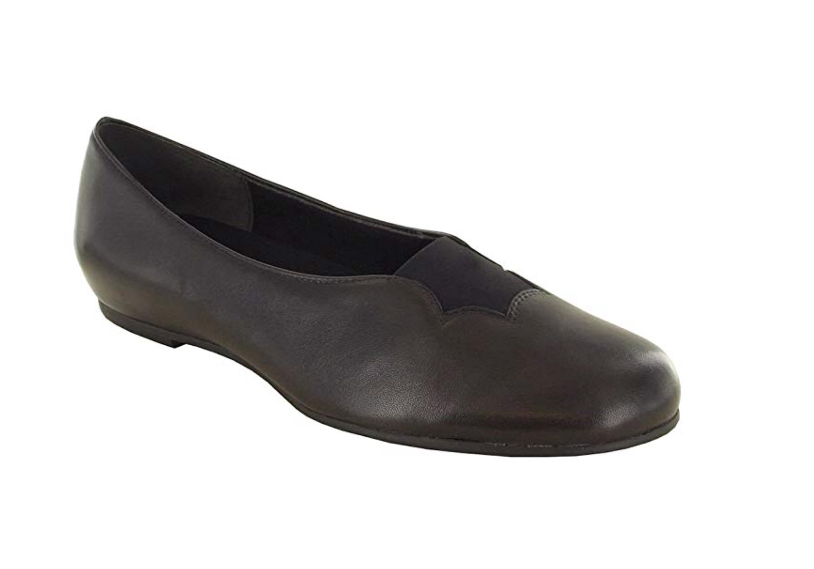 Primary image for NEW Munro American Size 5.5 Medium Women's Luna Shimmer Suede Round-Toe Shoe