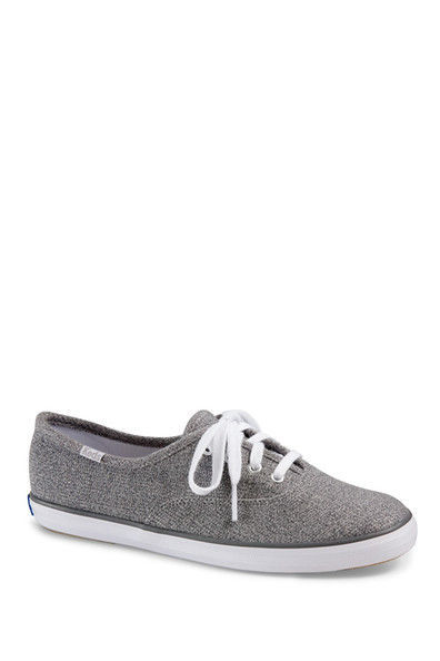 a80db3c9ba8c4 KEDS Women s Gray Grey Champion Sweatshirt Jersey Sneaker Shoes 6M  40 New