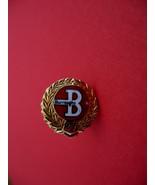 Burroughs 27 Collector Souvenir Hat Lapel Pin 14 Karat Gold - $7.99