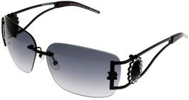 John Richmond Sunglasses Swarovski Women Rimless Black JR 63404 Special ... - $68.31