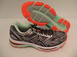 Asics women's running shoes gel nimbus 19 (2A) carbon white flash coral ... - $118.75