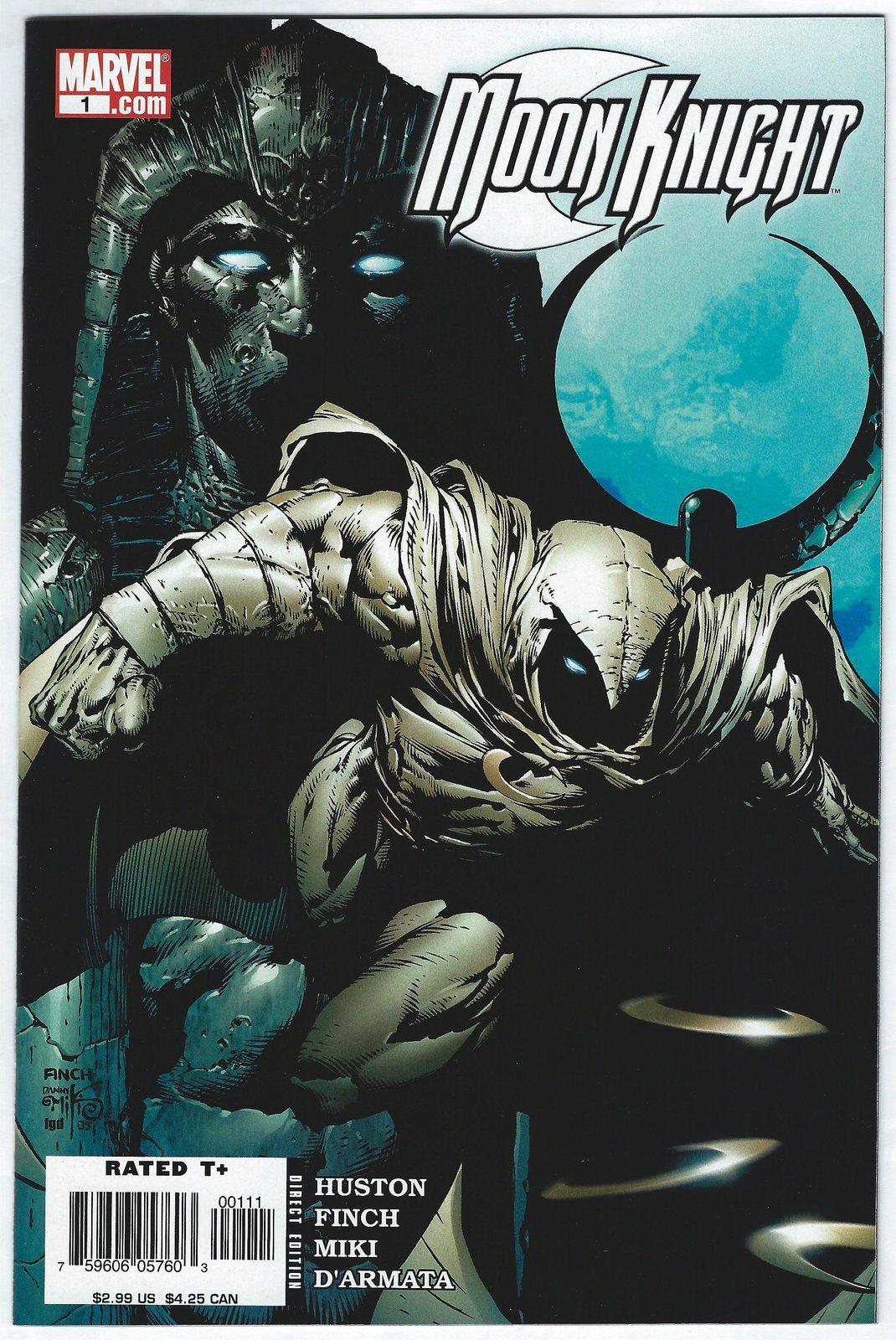 MOON KNIGHT #196 2018 MARVEL Comics ~ VF//NM Comic Book