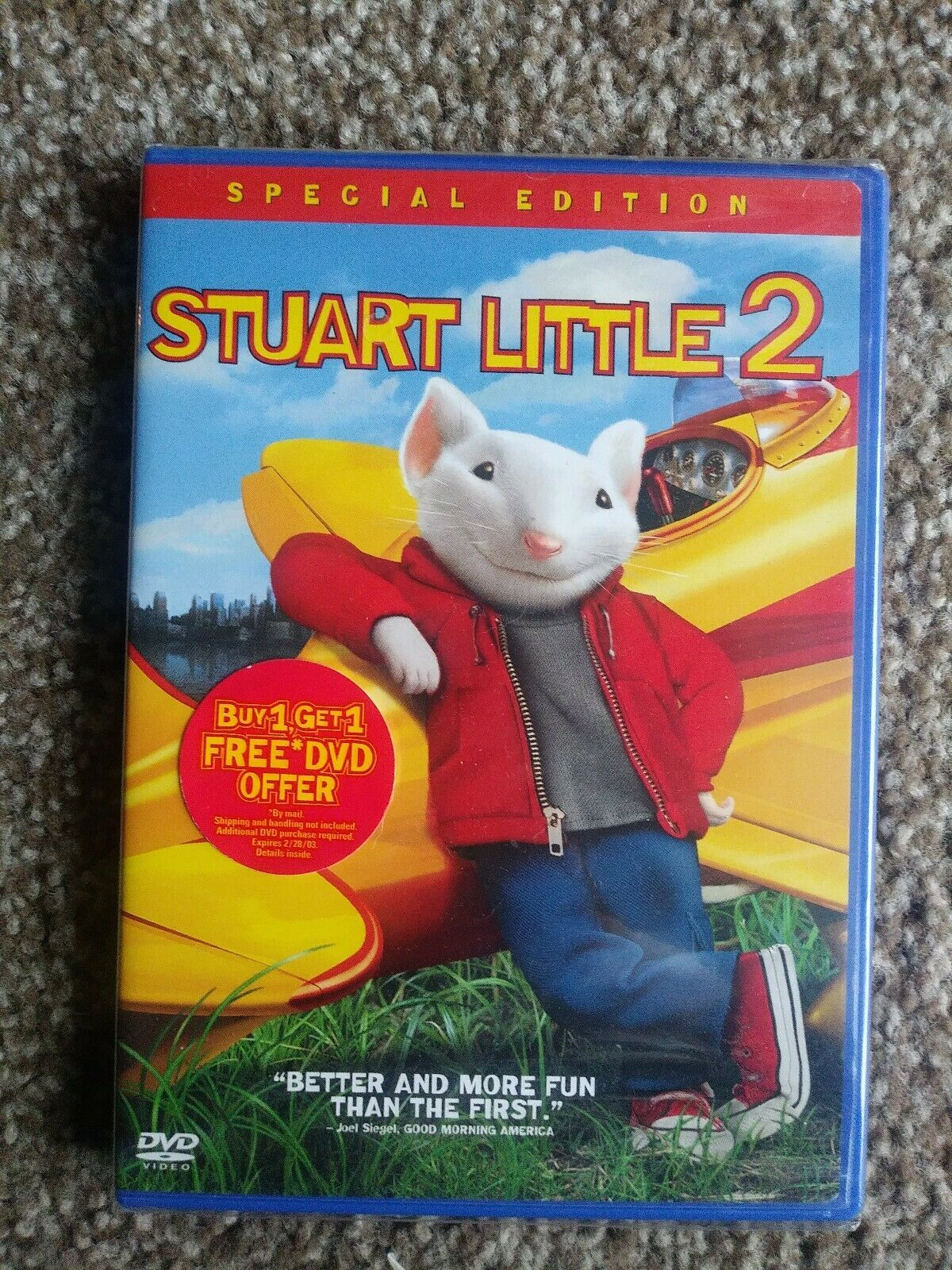 Primary image for STUART LITTLE 2 DVD Columbia Pictures PG Special Edition