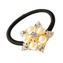 Set of 3 Korea Style Hair Bands Rhombus Shape Hair Accessories 3.5x3.5 cm
