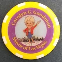 """CAROLYN G. GOODMAN, Mayor of Las Vegas Non-Gaming Casino Chip 1-5/8"""" in ... - $9.95"""